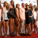 Nick Pini and his models after the show!